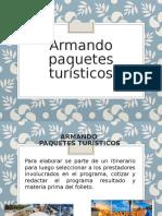 Armando paquetes turísticos