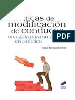 Técnicas de modificación de conducta. una guía para su puesta en práctica - Barraca.pdf