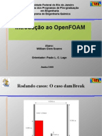Curso Introdutório do OpenFOAM Parte 2