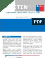 Boletin 5 Victimización y consumo de alcohol en Chile
