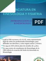 Licenciatura en Kinesiologia y Fisiatria Clase