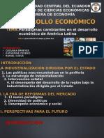 Exposición Paradigmas cambiantes en el desarrollo económico de América Latina