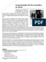 Relaciones internacionales de las Grandes Potencias (1814-1919)