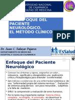 Enfoque del paciente neurológico , el método clínico