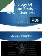 DM ppt- Benign Vulval disorders