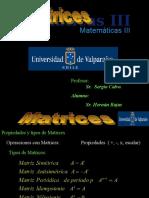 Matrices Mat III