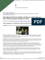 13-12-2010 Piden Diputados Reforzar Medidas Anti Dengue