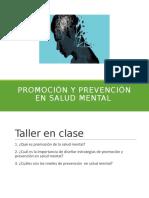 PYP en salud mental