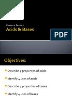 Acids & Bases Ch15.2 8th