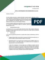 Informativo OTEC Nº 84 Protocolo SENCE por Coronavirus.pdf