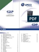 208-User manual UPO33 80 PF365 Eng