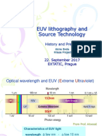 EUV lithography and Source Technology