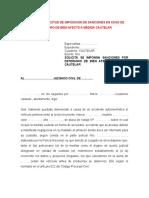 29.MODELO DE SOLICITUD DE IMPOSICION DE SANCIO¬NES EN CASO DE DETERIORO DE BIEN AFECTO A MEDIDA CAUTELAR