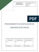 PROCEDIMIENTO DE INSTALACIÓN DE TABLEROS ELECTRICOS.pdf