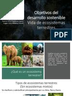 Vida en Ecosistemas terrestres