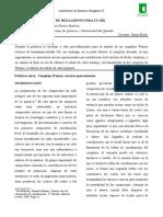 Practica No. 4 - Sintesis de Cloruro de Hexaaminocobalto III.docx
