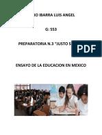 Educacio publica y privada en mexico