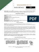FICHA TÉCNICA TRONACIL