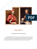 Chapter 11 -  St. Charles Borromeo and St. Francis De Sales