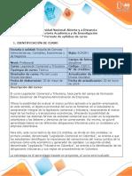 Syllabus del curso Legislación Comercial y Tributaria