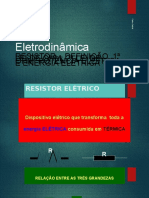 Eletrodinâmica prf. Cabral