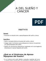 APNEA DEL SUEÑO Y CÁNCER