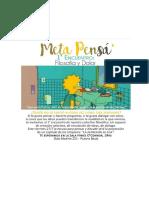 Filosofía y Dolor-1er Fanzine Meta Pensá