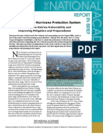 The New Orleans Hurricane Protection System, Report in Brief
