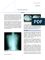 Pancreatic Calcification