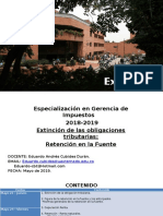 Diapostivas Retención en la Fuente - Colombia