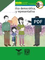 La Constitucion comentada para niños, jóvenes y para todos Fasciculo 8 (República Representativa Democrática Laica y Federal).pdf
