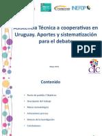 Presentación AT con cooperativas en Uruguay. Aportes y sistematización para el debate.