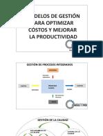 Modelos de gestión para mejorar la productividad y optimizar costos