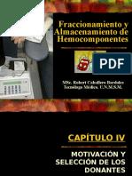 Fraccionam Almacenam Hemocomponentes
