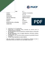 CL 1 CFIL - Horario 0256 SD