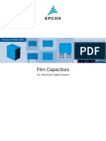Film Capacitors for Industrial Applications
