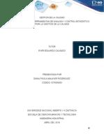 EJERCICIO GESTION DE LA CALIDAD