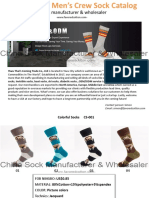 Wholesale Custom Mens Cotton, Colorful, Funny, Cool Dress Sock Catalog