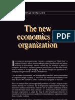 The new economics organization