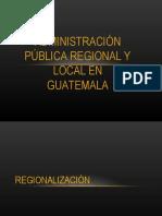 Clase IX Regionalización
