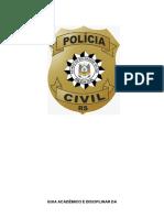 MANUAL GUIA ACADÊMICO DISCIPLINAR - PC