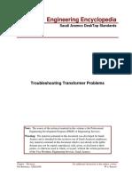 EEX20208 , Troubleshooting Transformer Problems