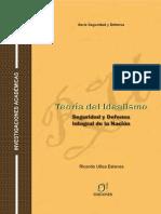 TEORIA DEL IDEALISMO - REALISMO POLITICO