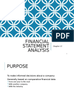 PPT FINANCIAL STATEMENT ANALISYS CHAPTER 17