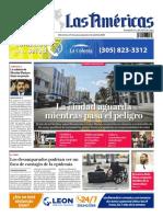 DIARIO LAS AMÉRICAS Edición impresa viernes 27 de marzo al jueves 2 de abril de 2020