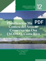 Planificación marino-costera del Área de Conservación Osa (ACOSA),
