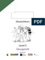 Deutschkurs-Level-5-Uebungsheft
