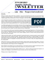 Springboro Schools December 2010 Newsletter