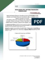 SoftLine. Informe de Resultados del Sistema Financiero Venezolano, noviembre 2010