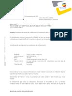 Carta_Aprobacion_CH.pdf JULIO CESAR GOMEZ - BLANCA ALICIA MOLANO CASA 86 PALO DE CRUZ